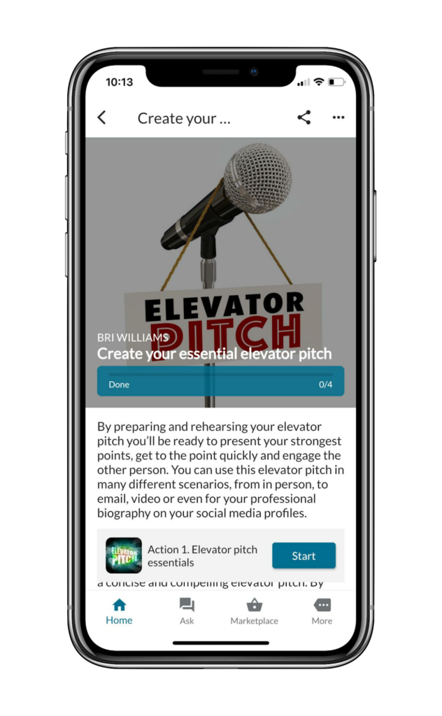 LiveMore Elevator Pitch Challenge
